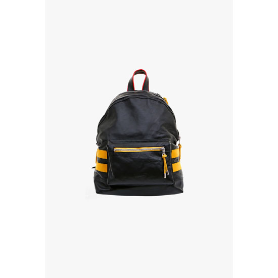 BALMAIN MEN LEATHER BACKPACK