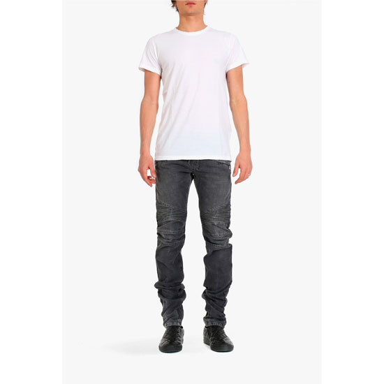 BALMAIN MEN THREE-PACK COTTON T-SHIRTS