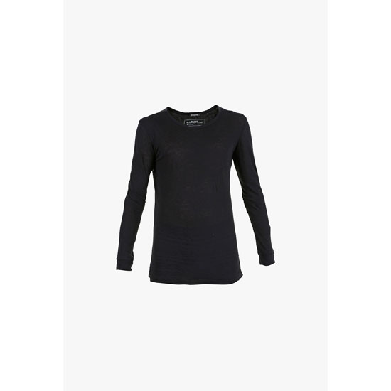 BALMAIN MEN LONG-SLEEVED COTTON T-SHIRT