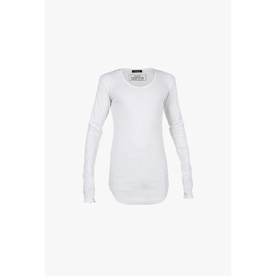 BALMAIN MEN COTTON-JERSEY LONG-SLEEVED T-SHIRT