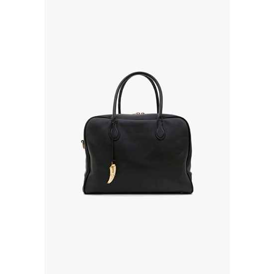 BALMAIN WOMEN SMOOTH LEATHER PIERRE BAG