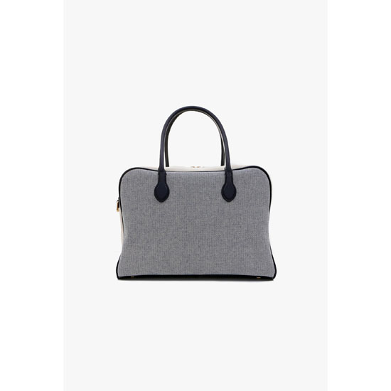 BALMAIN WOMEN PIERRE BAG IN FABRIC