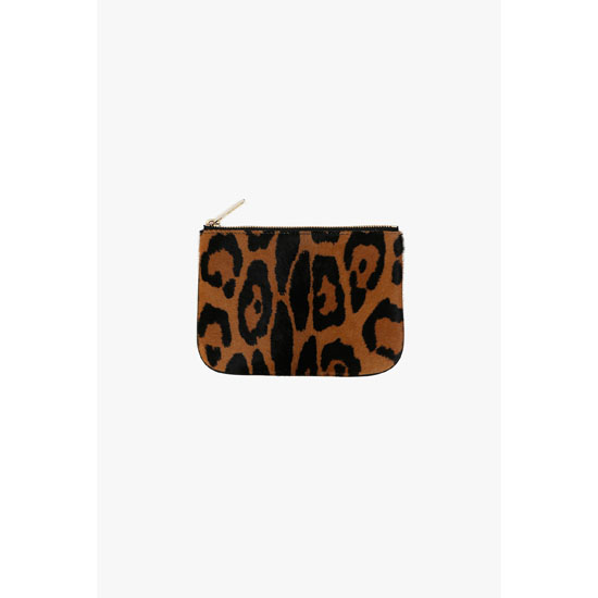 BALMAIN WOMEN PONYSKIN PIERRE MINI-CLUTCH