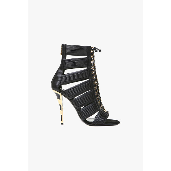 BALMAIN WOMEN HOPI LEATHER SANDALS