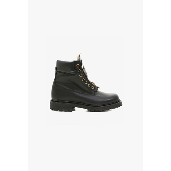 BALMAIN WOMEN RANGER LEATHER BOOTS