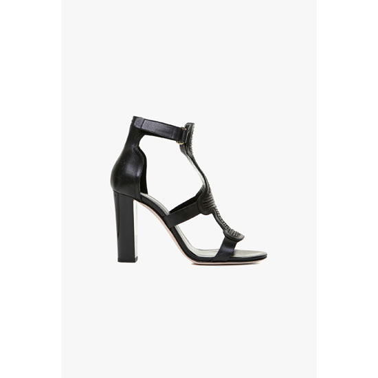BALMAIN WOMEN ARGI LEATHER SANDALS